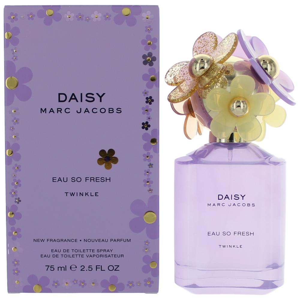 New marc jacobs daisy eau so fresh twinkle eau de toilette spray in the heart sparkling raspberry intertwines with violet flower and wild rose blossoms creating a blissful aroma crme de cassis rounds out the base of izmirmasajfo Image collections