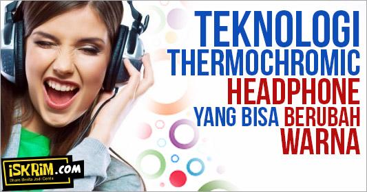 Headphone Ini Bisa Berubah Warna Sesuai Lagu Dan Emosi Pemakainya