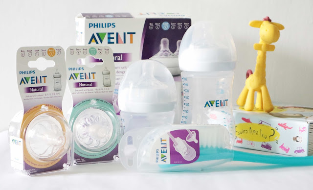 Review Botol Susu Philips Avent Seri Natural 2.0