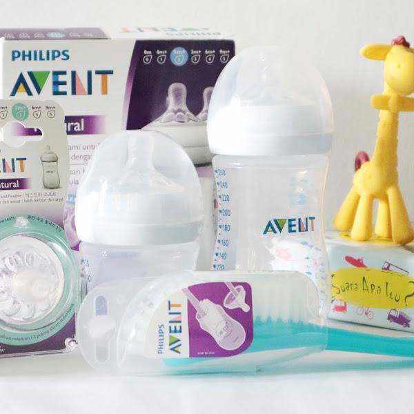 Review Botol Susu Philips Avent Seri Natural 2.0