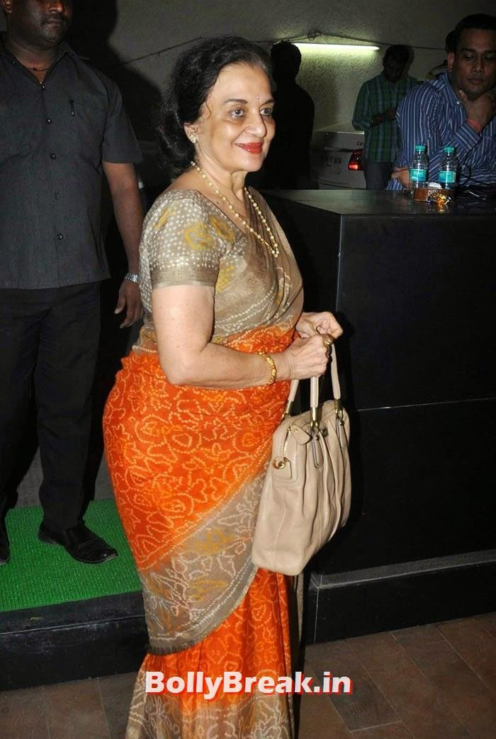 Asha Parekh, 'Humshakals' Movie Special Screening Pics