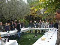 Cata de vinos casa rural torre de Campos