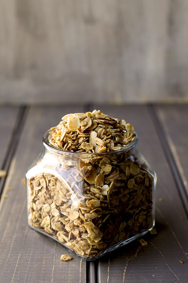 Granola recipe with Almonds
