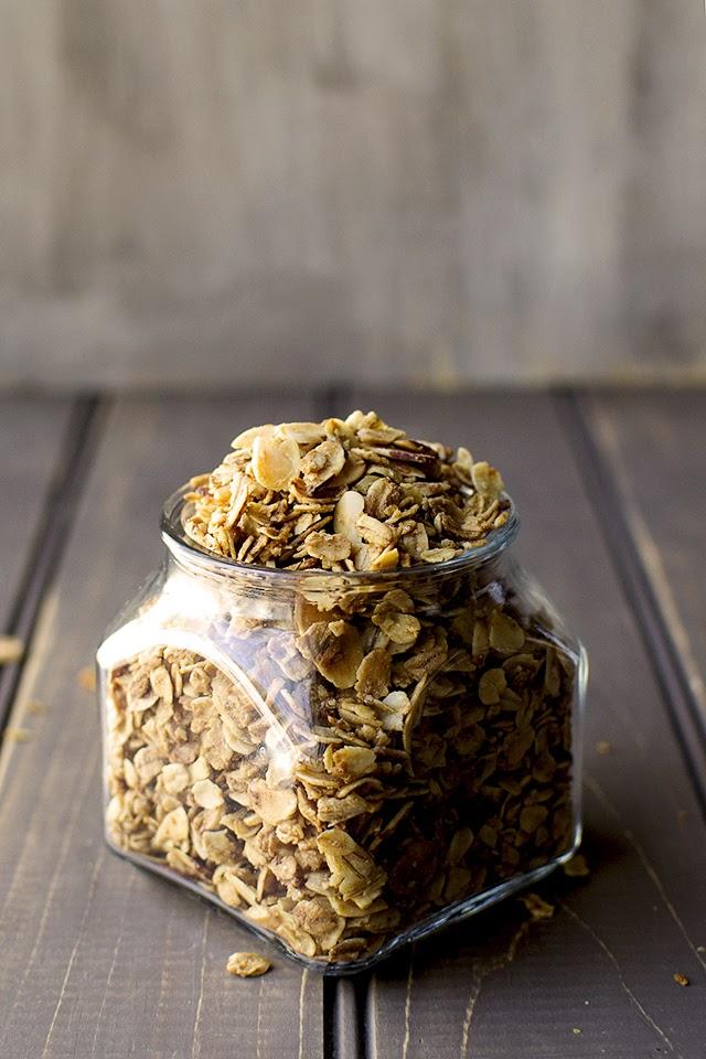 Granola recipe with Almonds