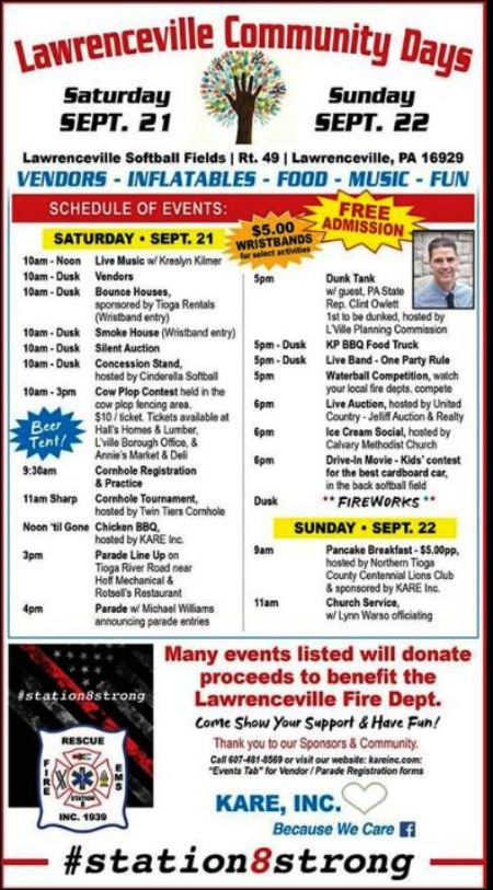 9-21/22 Lawrenceville Community Days