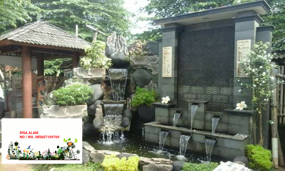 12 Galeri Foto Taman Rumah Taman Minimalis Taman Vertikal Garden