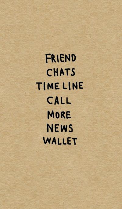 Simple words(kraft)