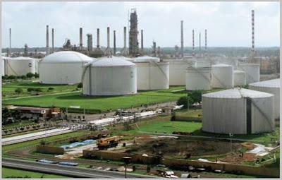 RU IV Cilacap di provinsi Jawa Tengah dianggap sebagai kilang minyak terbesar Indonesia hingga saat ini.