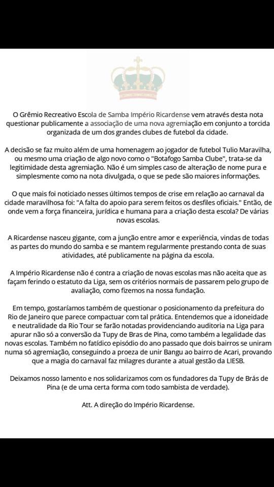 GRES IMPÉRIO RICARDENSE (RIO DE JANEIRO RJ) f459d59a5c710