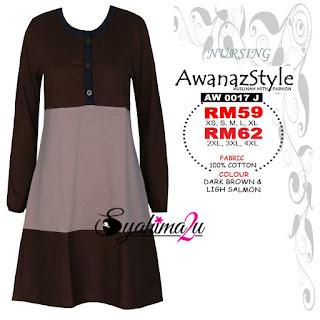 T-Shirt-Muslimah-Awanazstyle-AW0017J