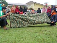 Kampus Relawan Masuki Pekan Kedua, Relawan Nusantara Kuasai Materi Bivak