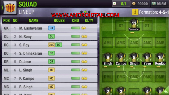 Top Eleven Mod Apk Unlimited Money/Token for Android
