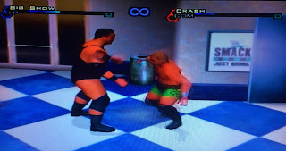 WWF Smackdown: Just Bring It (PS2) Big Show vs. Crash Holly