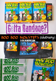 Boo Boo Bandages Giveaway