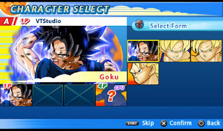 blockir iklan sebelum mendownload agar tidak terjadi error saat mendownloadnya Download Mod Texture Goku [Goku Ultra Instinct] DBZ TTT For Emulator PPSSPP