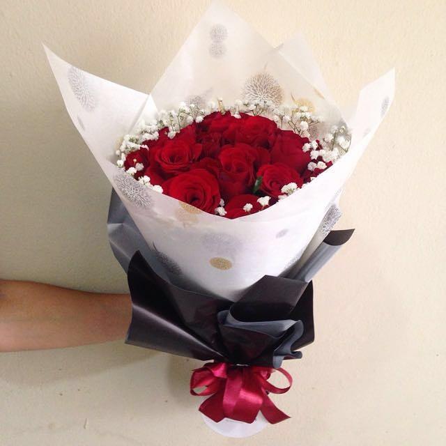 Hand Bouquet Murah Di Lenteng Agung Rancho Indah Florist Toko