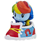 My Little Pony 5-pack Party Style Rainbow Dash Equestria Girls Cutie Mark Crew Figure