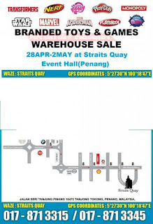 Branded Toys & Games Warehouse Sale 2017