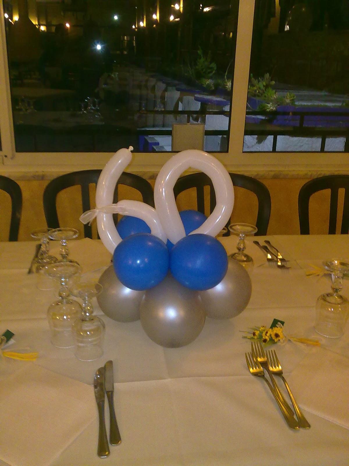Conosciuto LV balloon art: COMPLEANNO 60 anni WX35