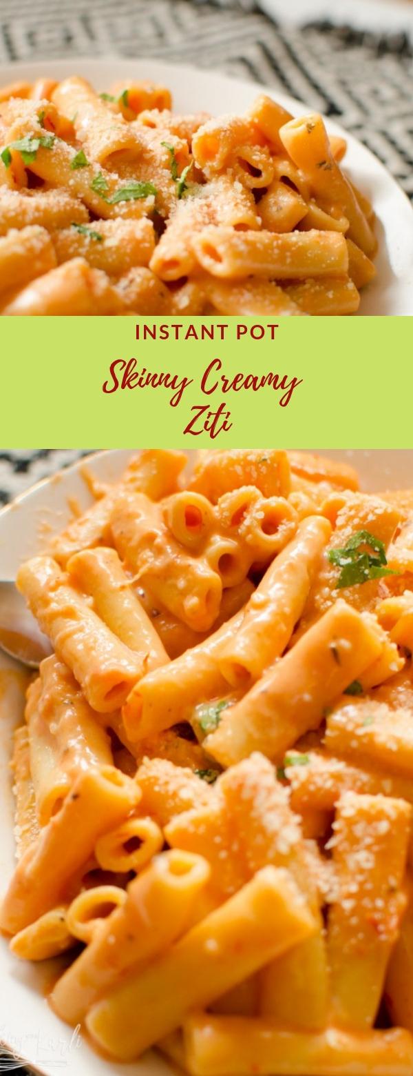 Instant Pot Skinny Creamy Ziti #INSTANTPOT