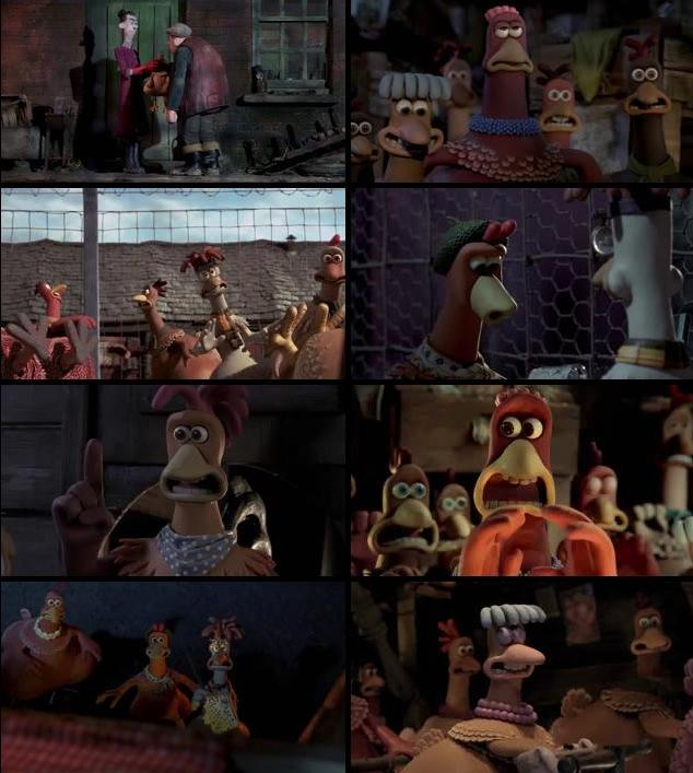 Chicken Run 2000 Hindi Dubbed 480p BRRip