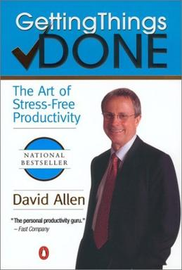 "alt=""Getting Things Done The Art of Stress-Free   Productivity by David Allen cover page"""