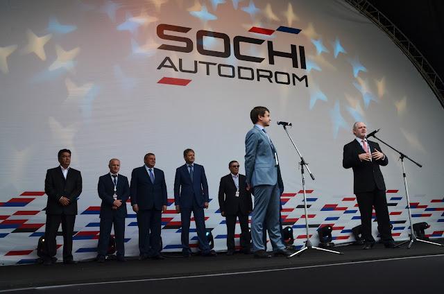 Открытие Сочи Автодрома, Dumchev.pro,