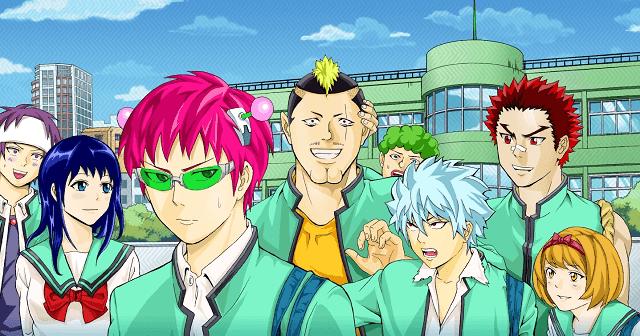 saiki kusuo no psi-nan menjadi salah satu anime komedi terbaik yang layak ditonton