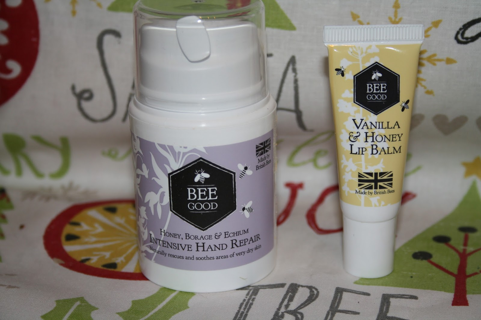 Bee Good Lip Balm and Hand Cream