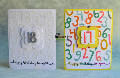 The Rubber Buggy One Birthday Card Two Ways