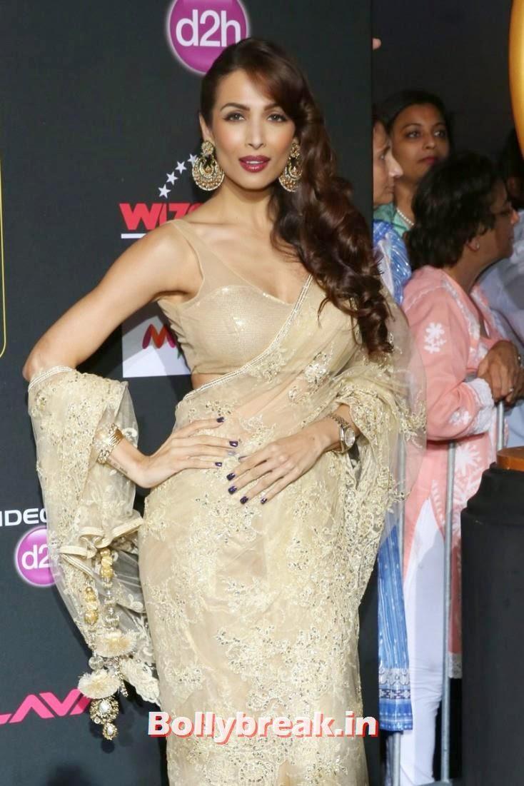 Maliaka Arora Khan, Bollywood Celebs sizzle on IIFA 2014 Green Carpet Pics