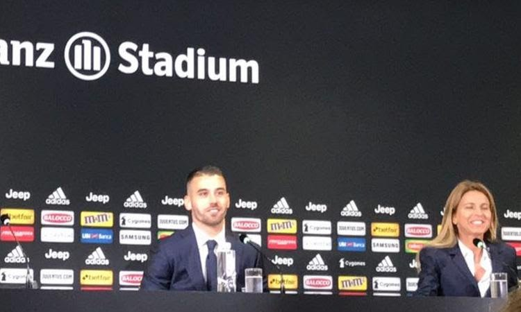 Spinazzola let go of Juventus Number 7 shirt for Ronaldo Nicknamed 'CR7'