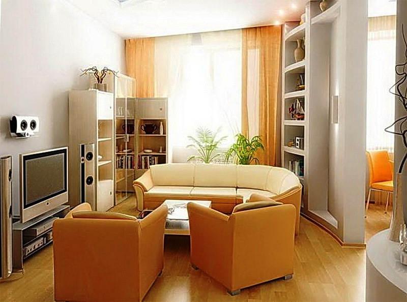 Contoh Warna Cat Dinding Ruang Tamu Sempit Minimalis Elegan