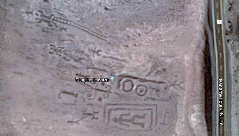 Tempat Misterius Geoglif Chiza