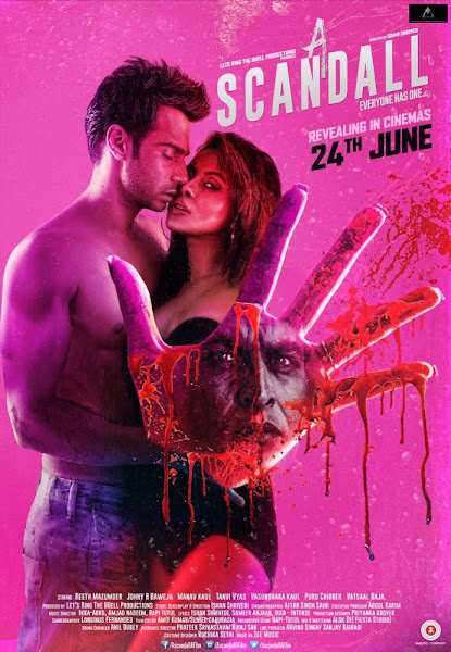 Poster Of A Scandall 2016 Hindi 720p HDRip Full Movie Download