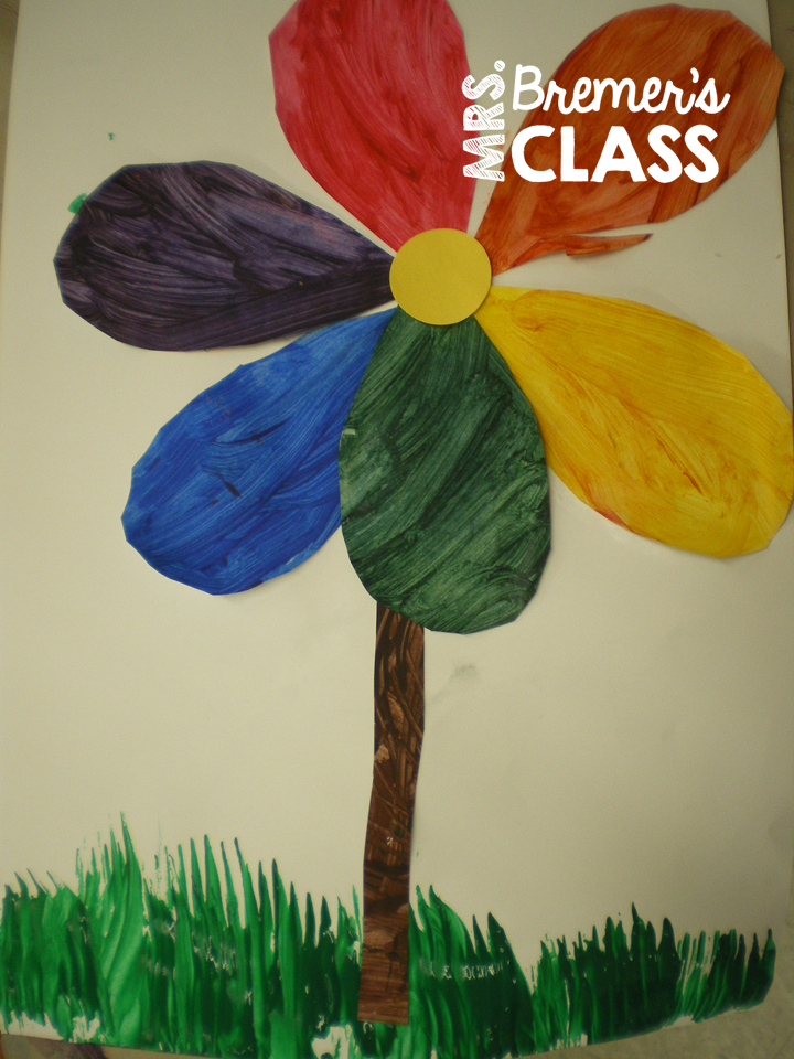 mrs bremers class the color wheel a spring art lesson