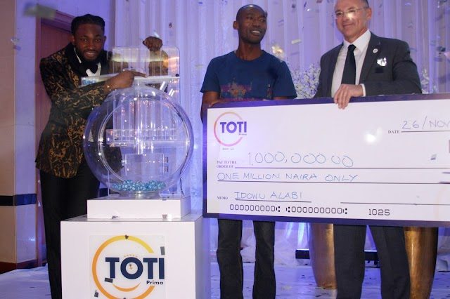 TOTI Prima Unveils New Lotto Brand In Nigeria