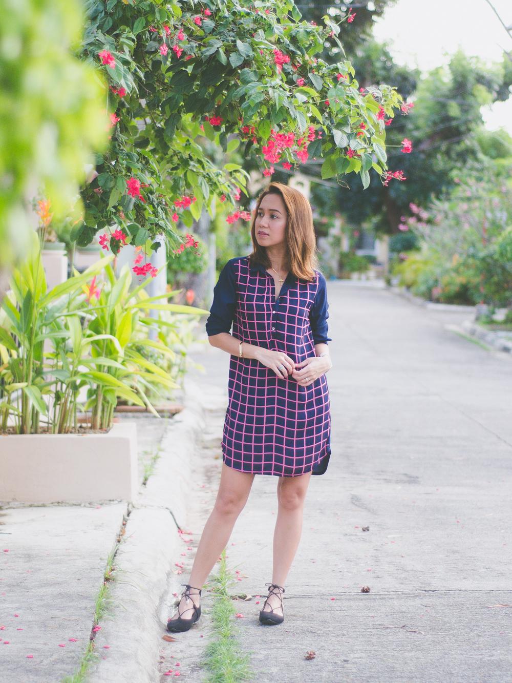 Cebu Fashion Blogger, Cebu Fashion Blog, Cebu Blogger, Cebu Bloggers, Memo Philippines, Shift Dress, Memo Shift Dress, Summer Dresses, Easy Pieces for Summer, Summer Outfit Ideas, Philippine Blogger, Asian Blogger, Cebu Lifestyle Blogger, SM Parisian, Lace-up flats