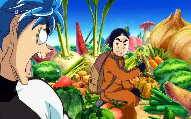 Kedua anime itu mirip dalam hal memasak