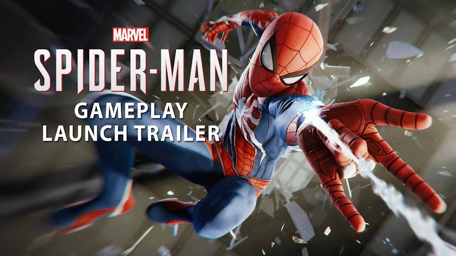 marvel's spider-man gameplay launch