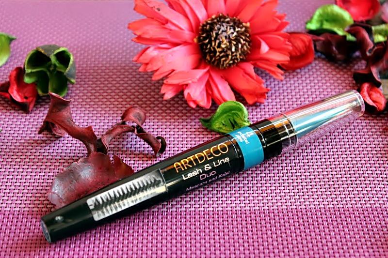 Цветная тушь для ресниц и кайал 2-в-1 Artdeco Lash & Line Duo Mascara And Kajal / обзор, отзывы