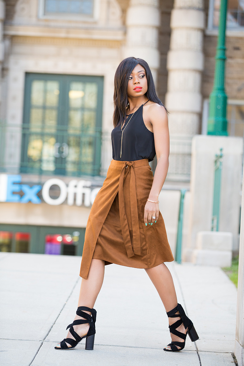 Le Tote, suede skirt, www.jadore-fashion.com