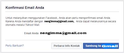 Cara Daftar Facebook menggunakan Email