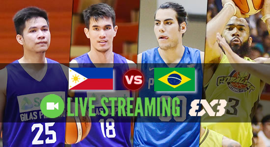 Livestream List: Gilas Pilipinas vs Brazil FIBA 3X3 World Cup 2018