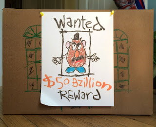 toy story wanted poster mr. potato head