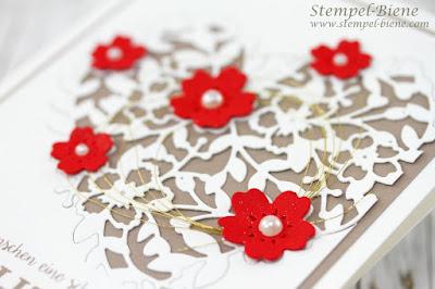 Hochzeitseinladung; Hochzeitskarte stampin' Up; Hochzeitsworkshop; Hochzeitsdeko; Hochzeitskarten basteln; stempel-biene; stampinupblog; Stampinup Sale a bration 2017