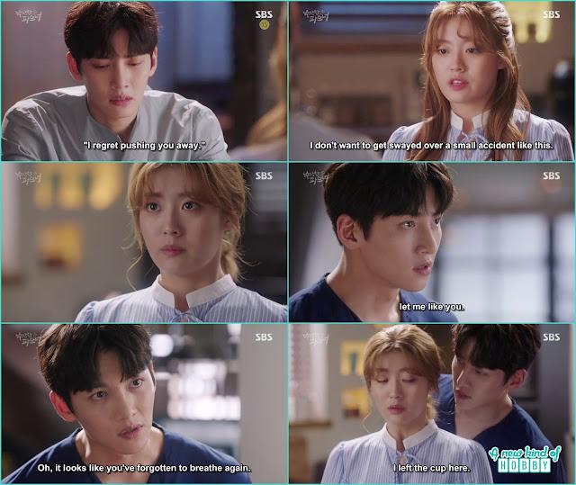 ji wook told bong hee let him like her - Suspicious Partner: Episode 17 & 18 korean Drama