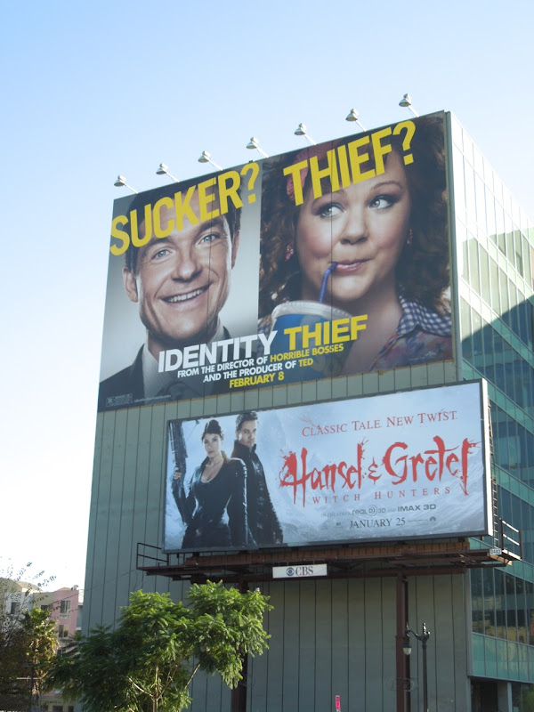 Identity Thief movie billboard