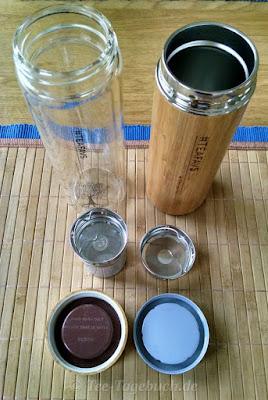 amapodo Teeglas und Thermobecher