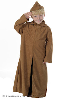 WWI Trench Coat Soldier Uniform Kids Costume from Theatrical Threads Ltd